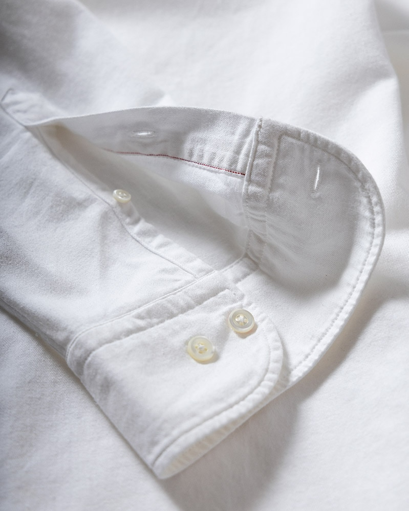 The White Denim Shirt