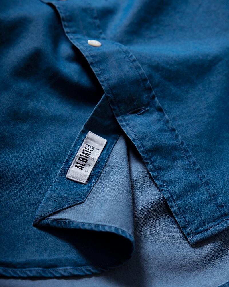John Delaware Denimskjorta Tailored