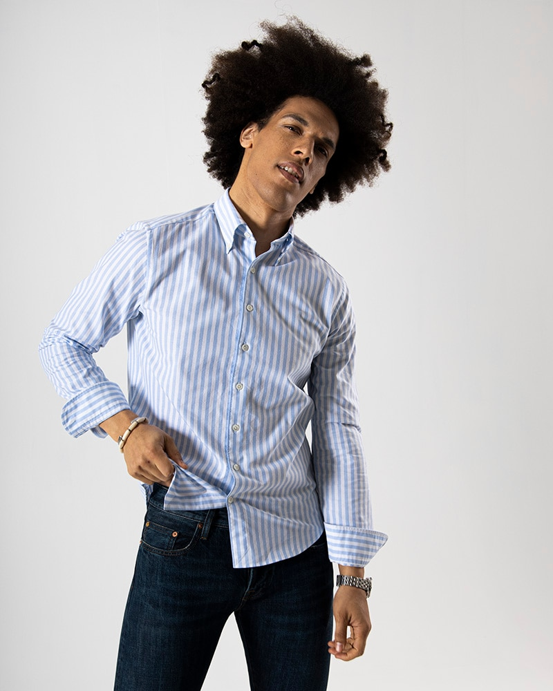 John Solano Oxfordskjorta Tailored
