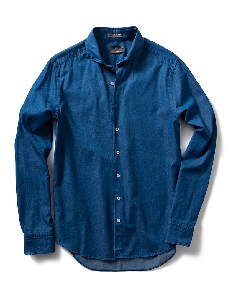 Steve Delaware Denimskjorta Tailored
